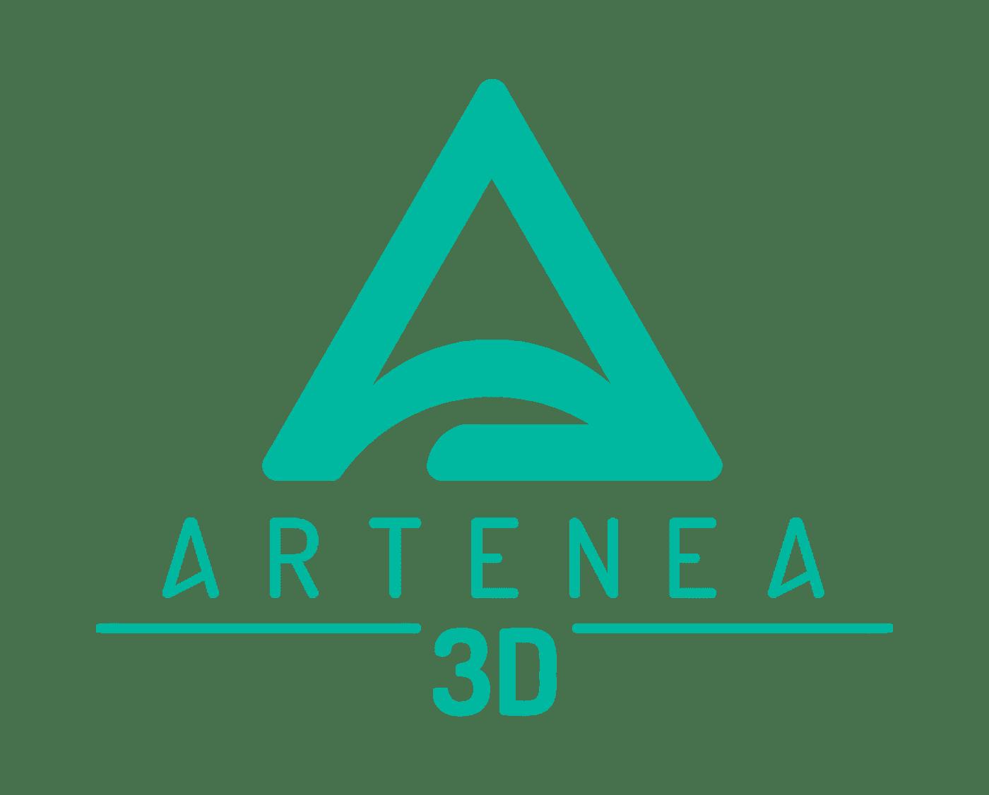 logo artenea 3d